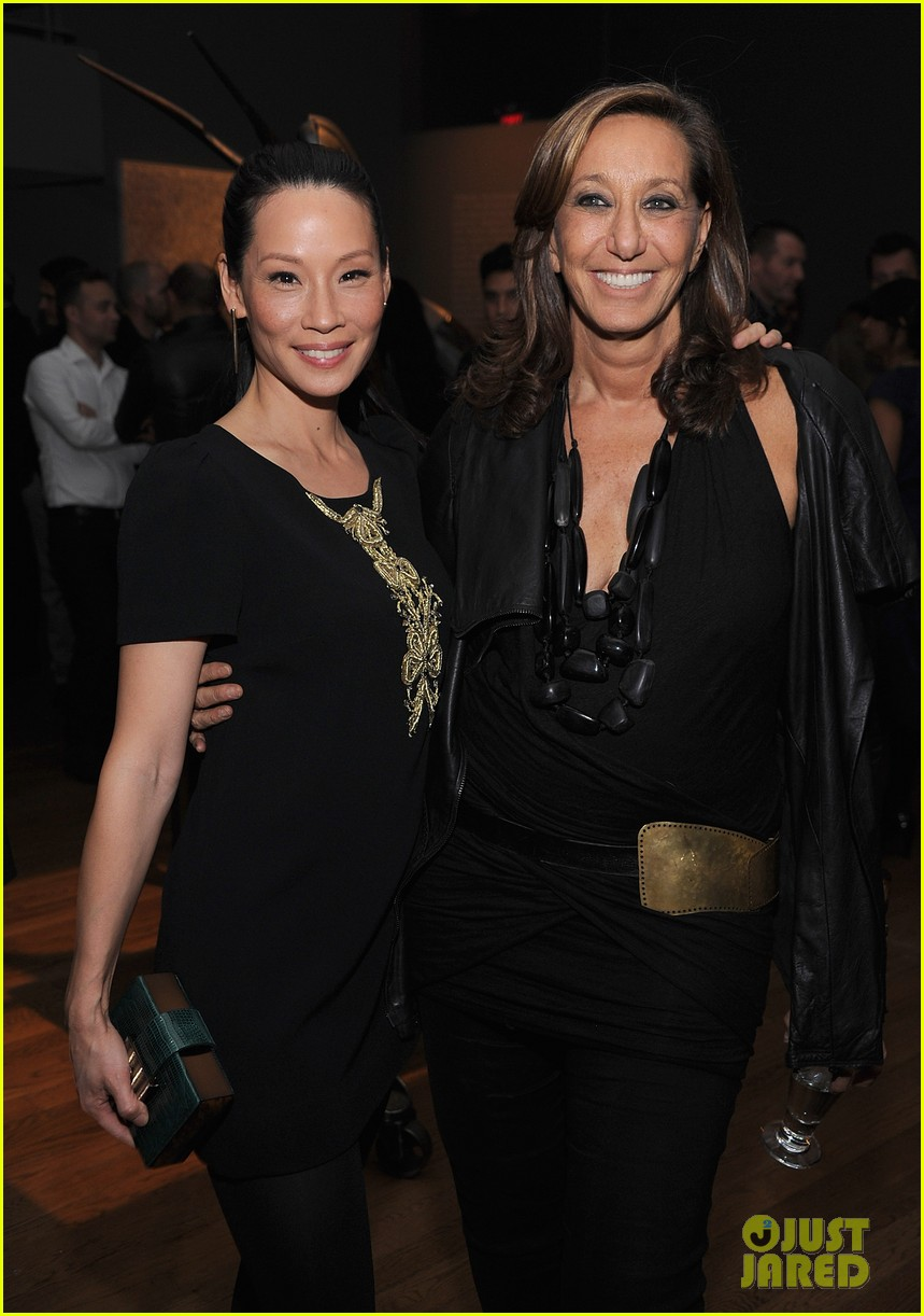 lucy liu behati prinsloo connecting the dots launch 042740276