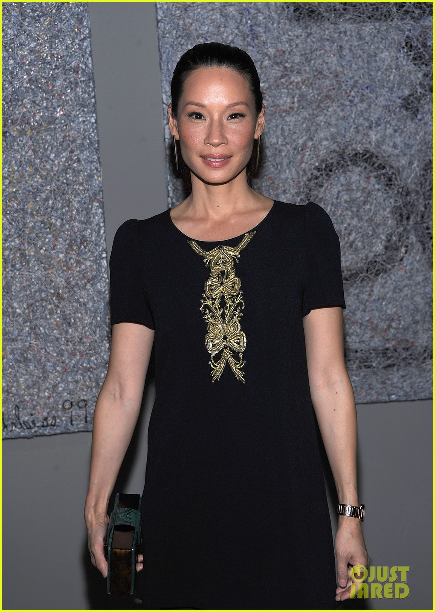 lucy liu behati prinsloo connecting the dots launch 06