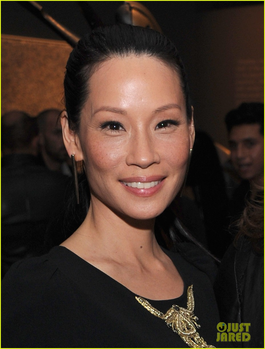 lucy liu behati prinsloo connecting the dots launch 082740280