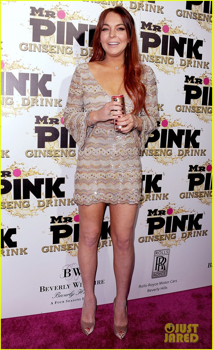 lindsay lohan promotes mr pink amidst family drama 14