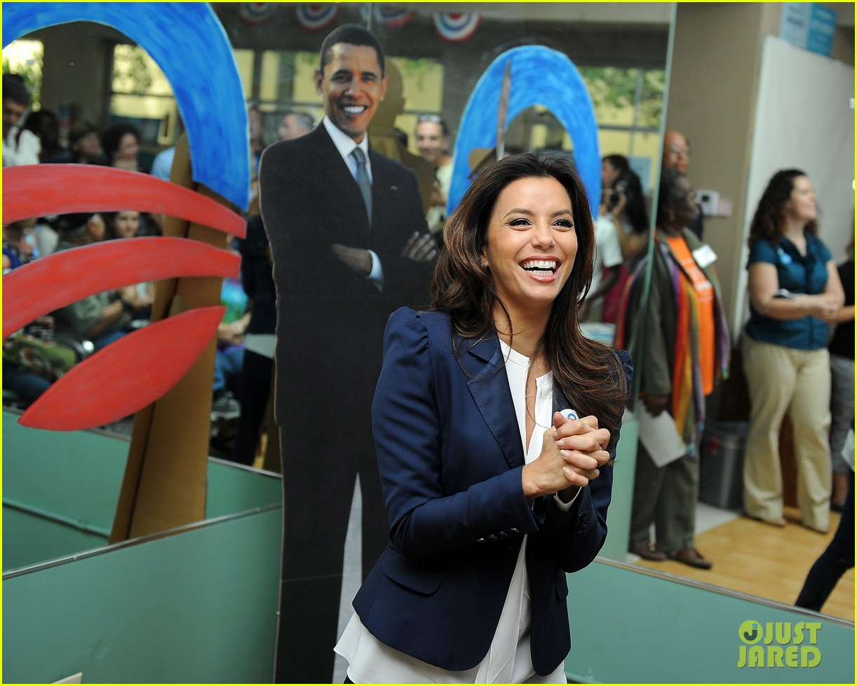 eva longoria campaigns for obama in west palm beach 112746921