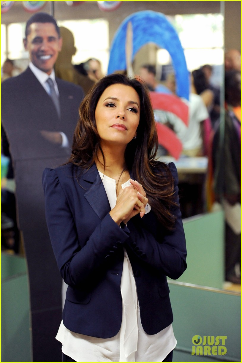 eva longoria campaigns for obama in west palm beach 132746923