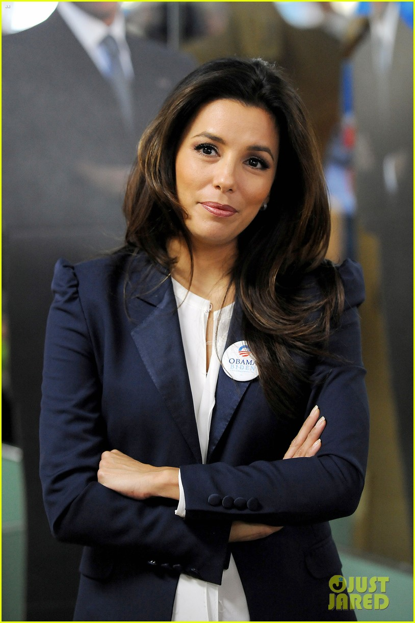 eva longoria campaigns for obama in west palm beach 152746925