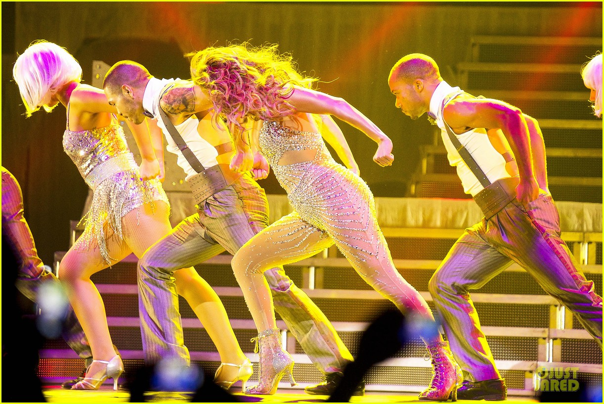 jennifer lopez madrid dance again concert 05