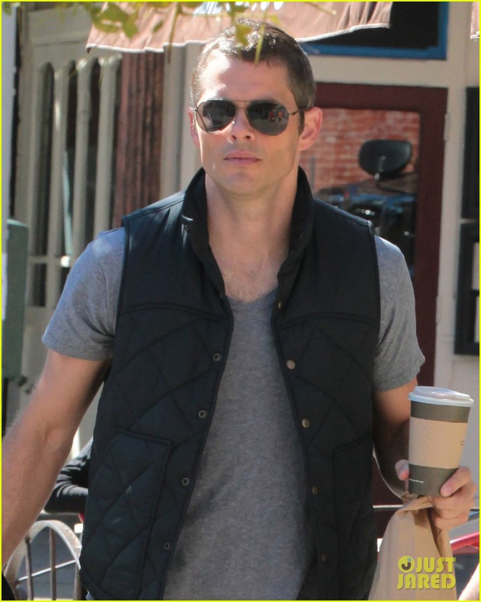 james marsden east village coffee run with son jack 022731789