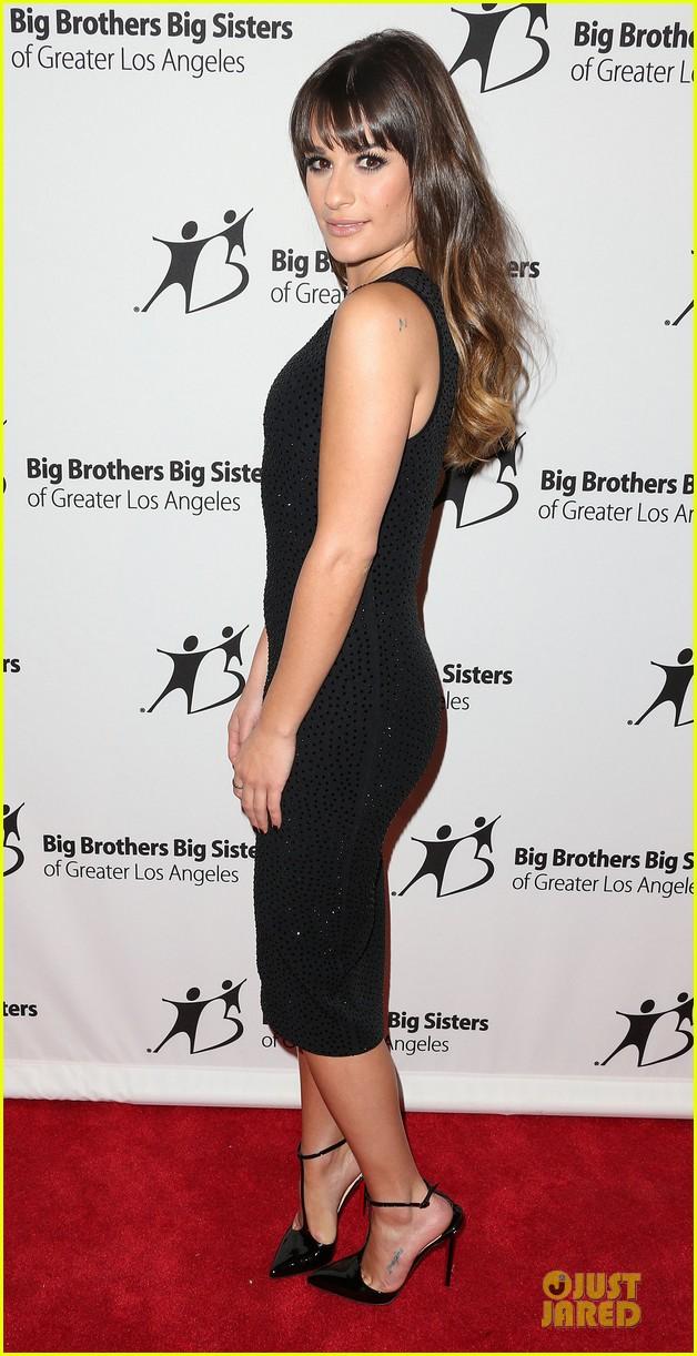 lea michele big brothers big sisters stars gala 032745956