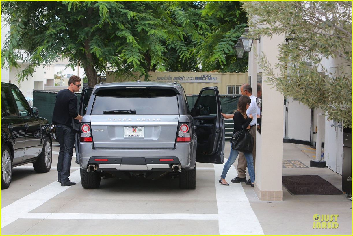 lea michele cory monteith shopping together in beverly hills 102737440