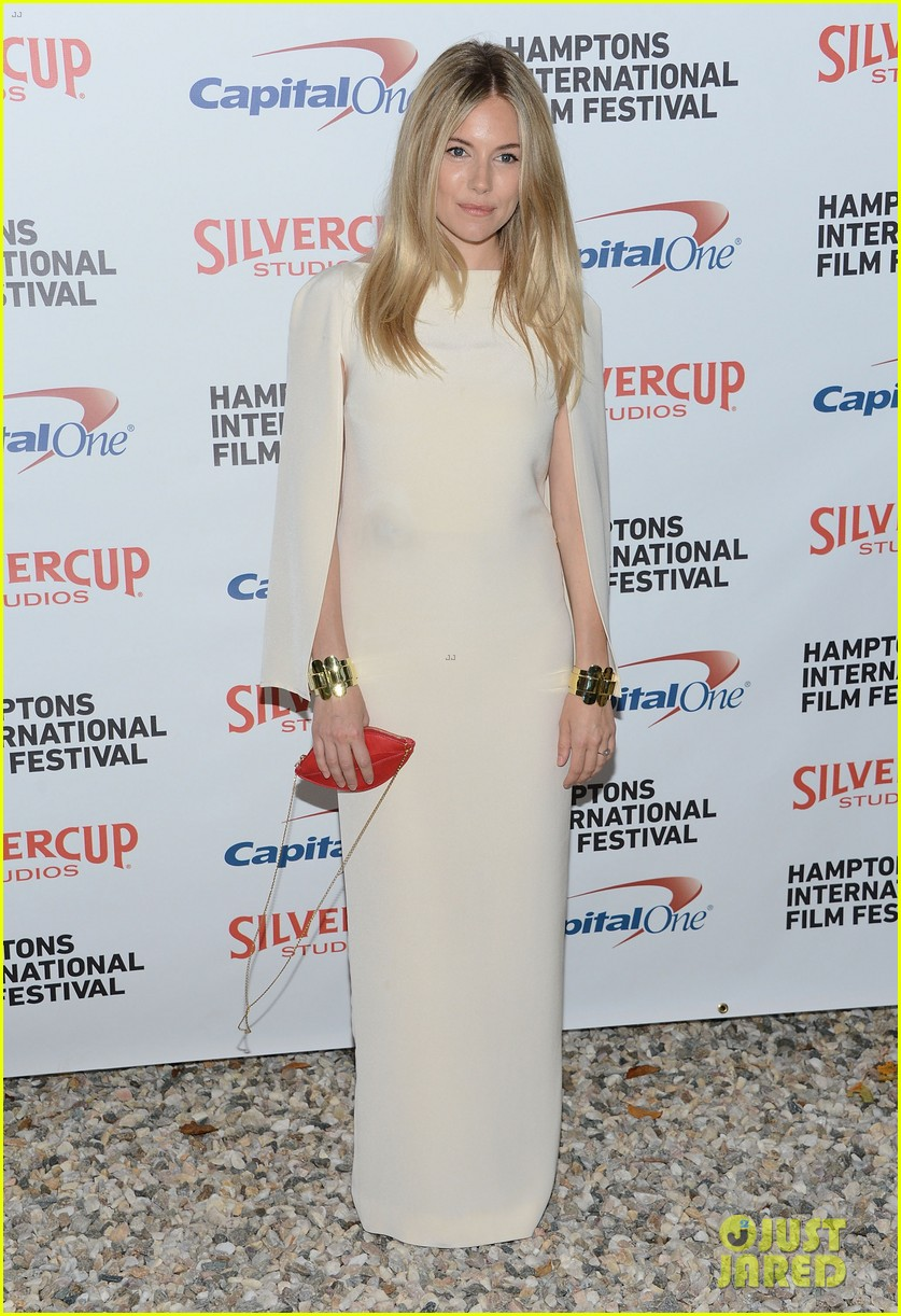 sienna miller hamptons film festival with toby jones 012734183