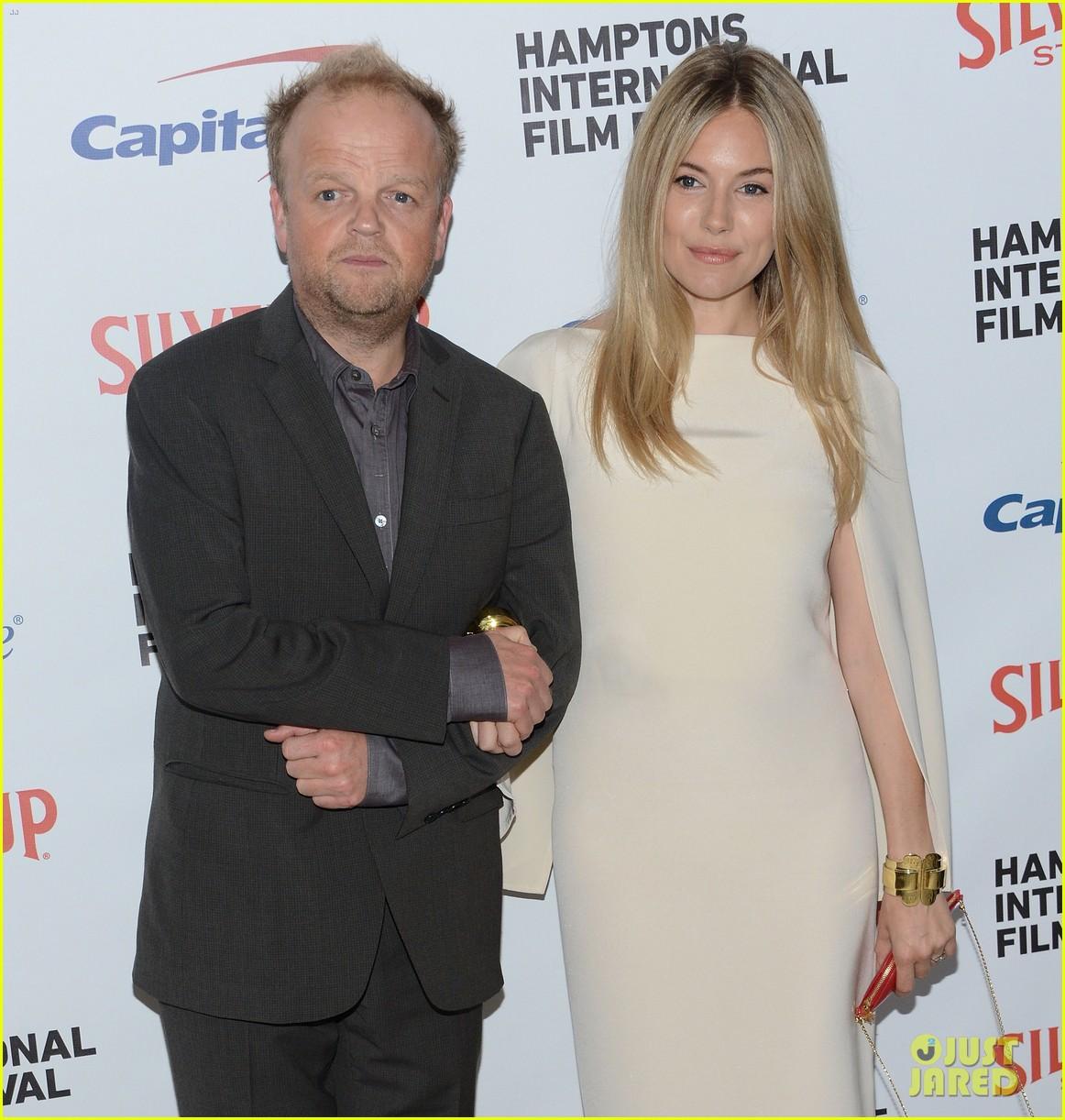 sienna miller hamptons film festival with toby jones 032734185