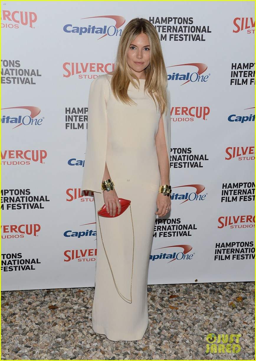 sienna miller hamptons film festival with toby jones 06