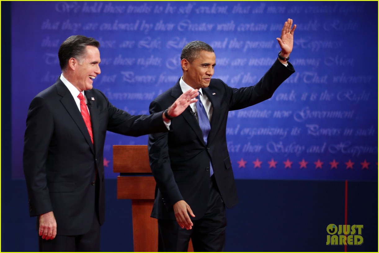 watch presidential debate barack obama mitt romney 212732643