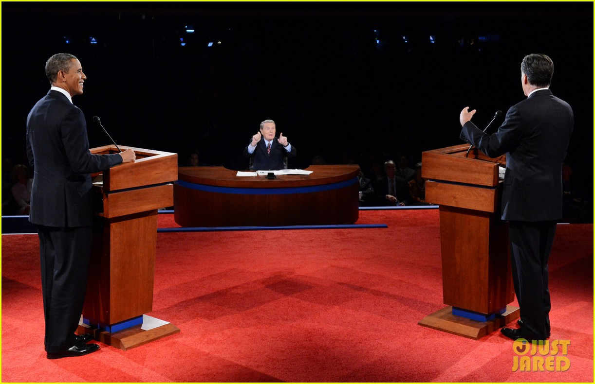 watch presidential debate barack obama mitt romney 232732645
