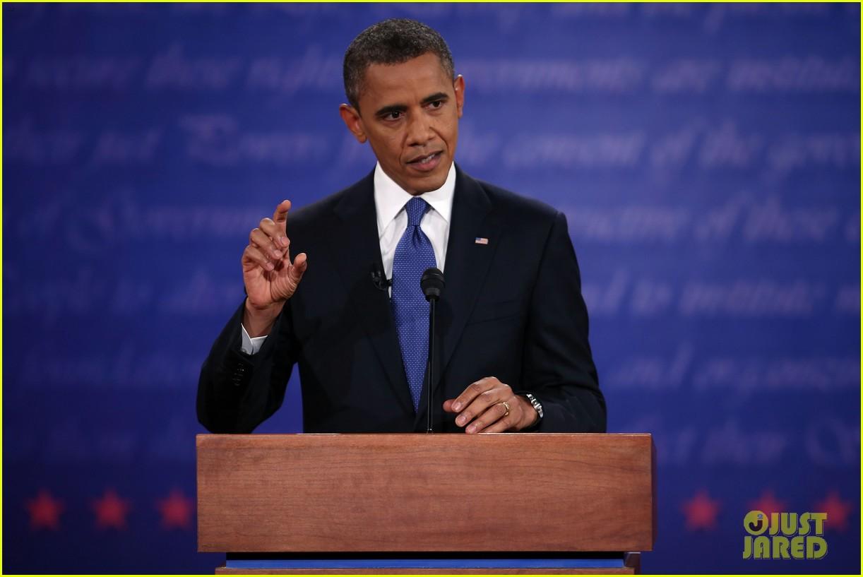 watch presidential debate barack obama mitt romney 252732647