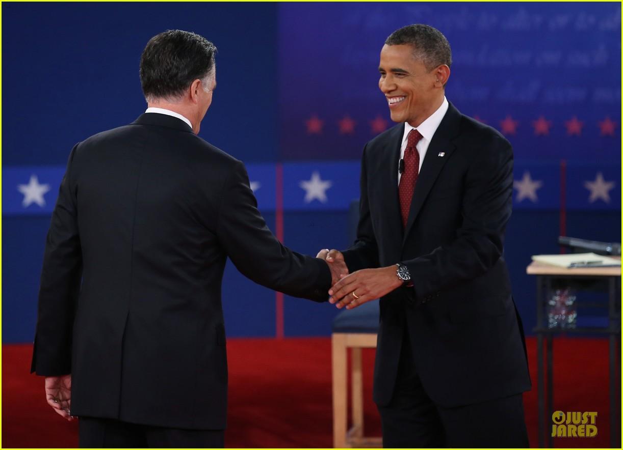 barack obama mitt romney second presidential debate 012739434