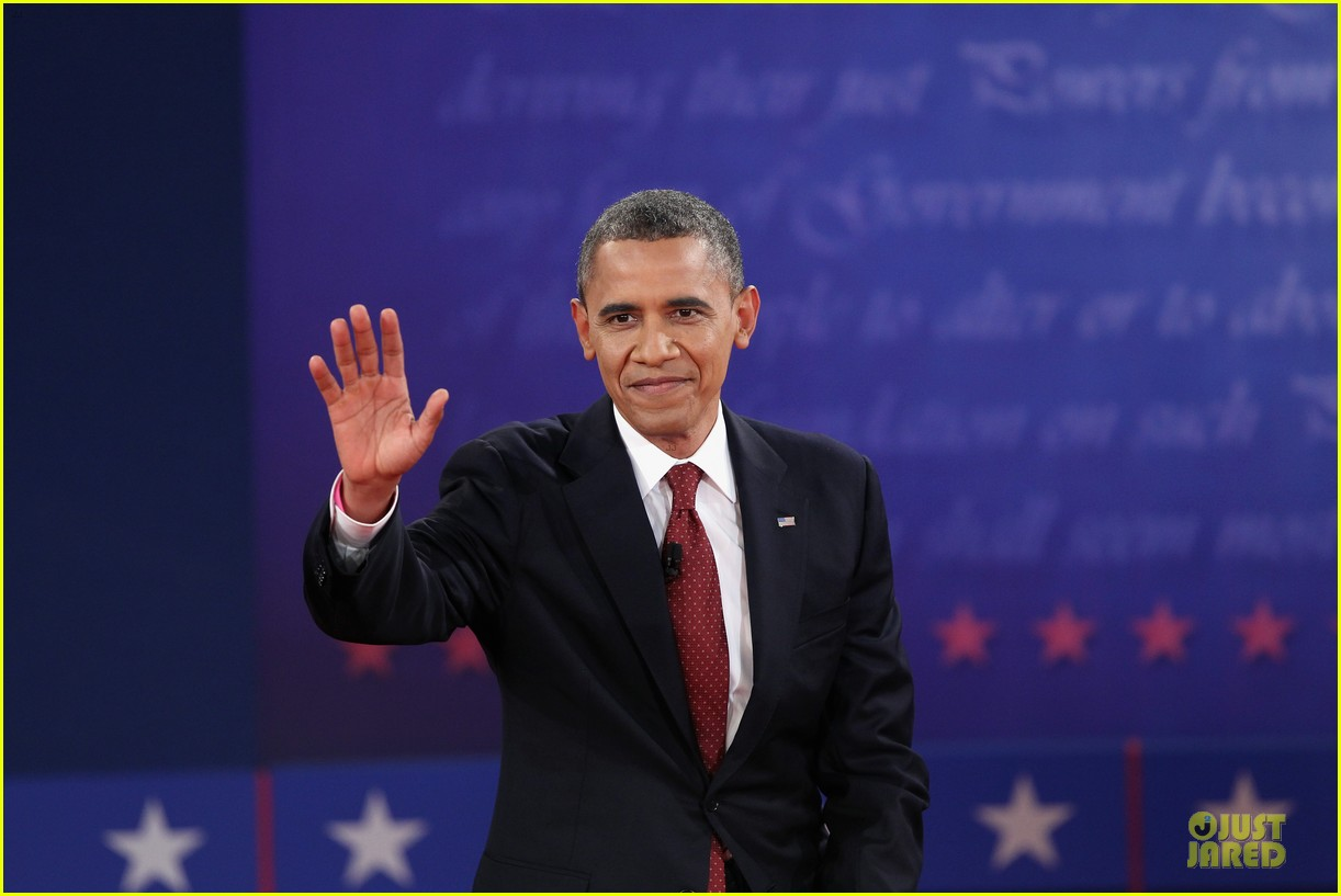 barack obama mitt romney second presidential debate 102739443