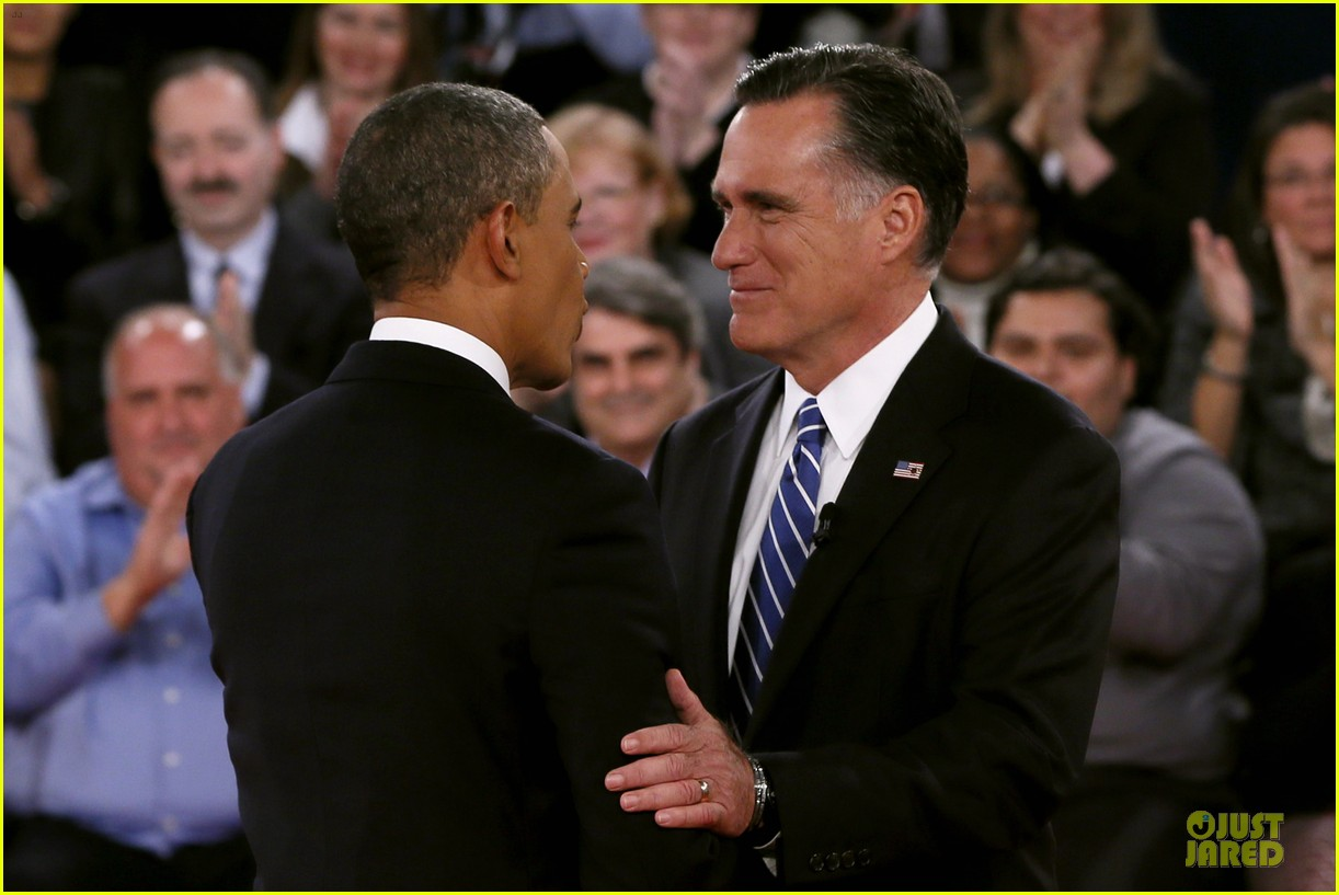 barack obama mitt romney second presidential debate 122739445