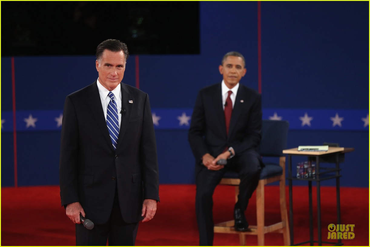 barack obama mitt romney second presidential debate 13