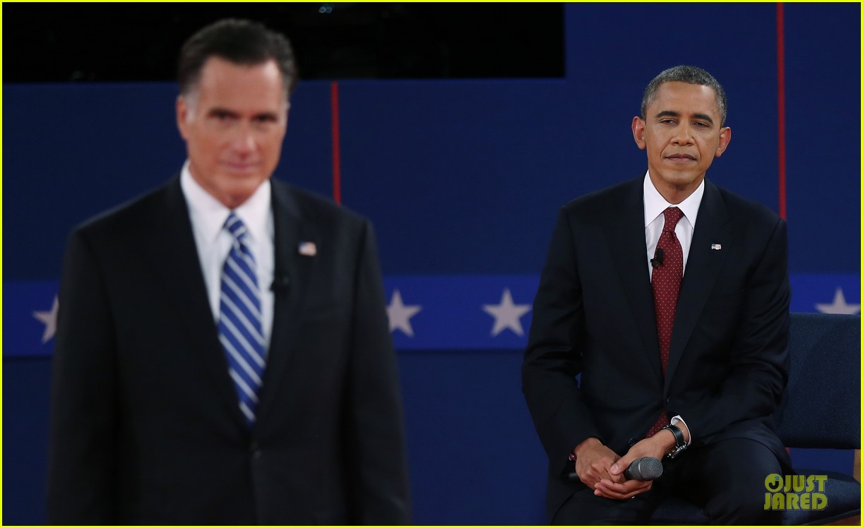 barack obama mitt romney second presidential debate 14
