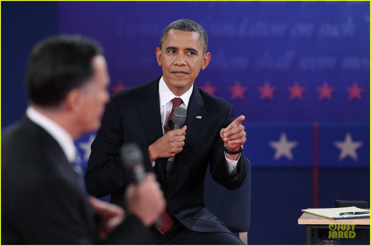 barack obama mitt romney second presidential debate 192739452