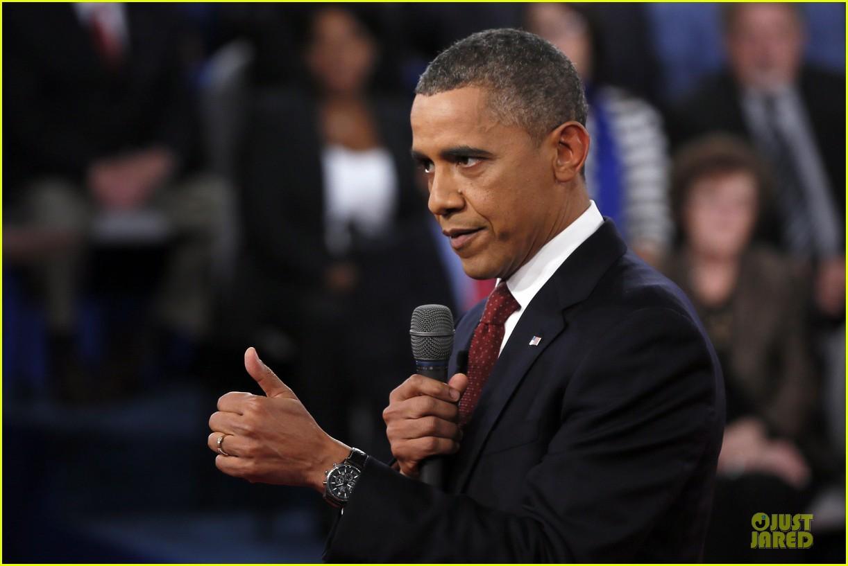 barack obama mitt romney second presidential debate 202739453