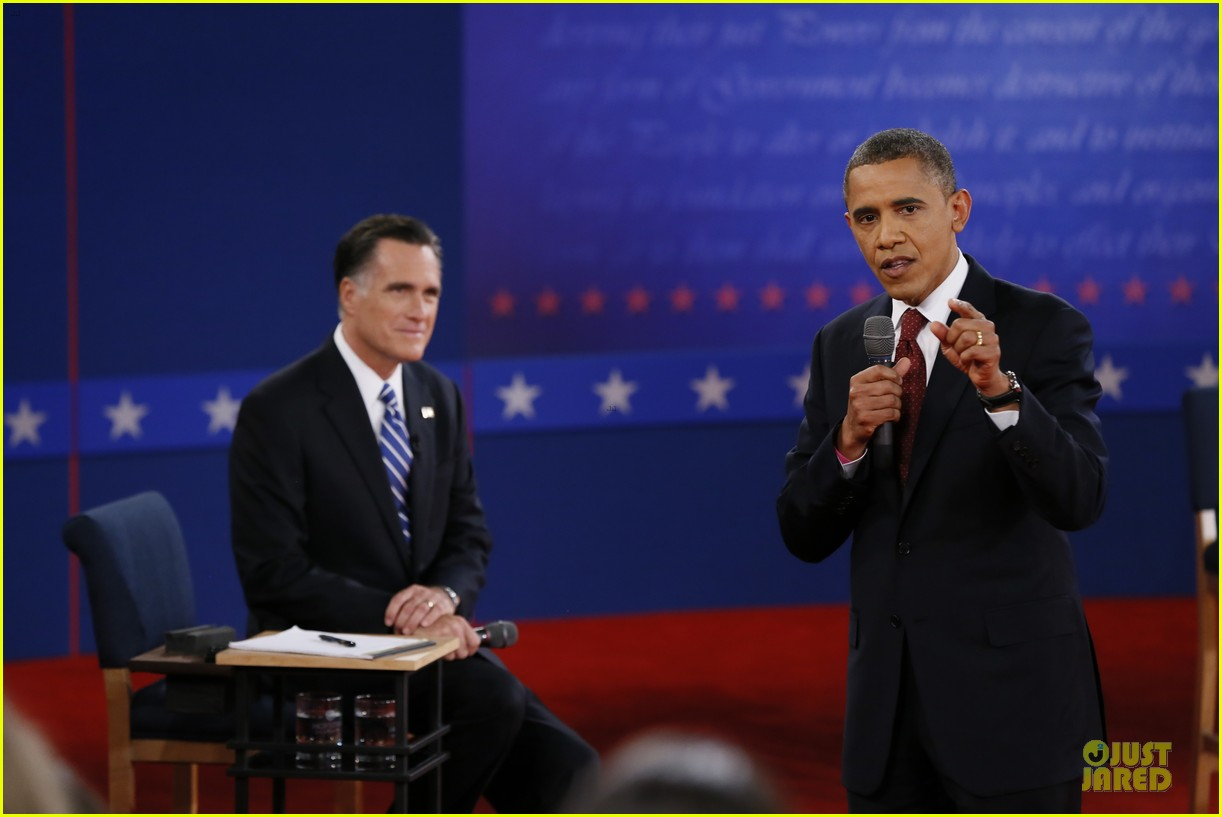 barack obama mitt romney second presidential debate 222739455