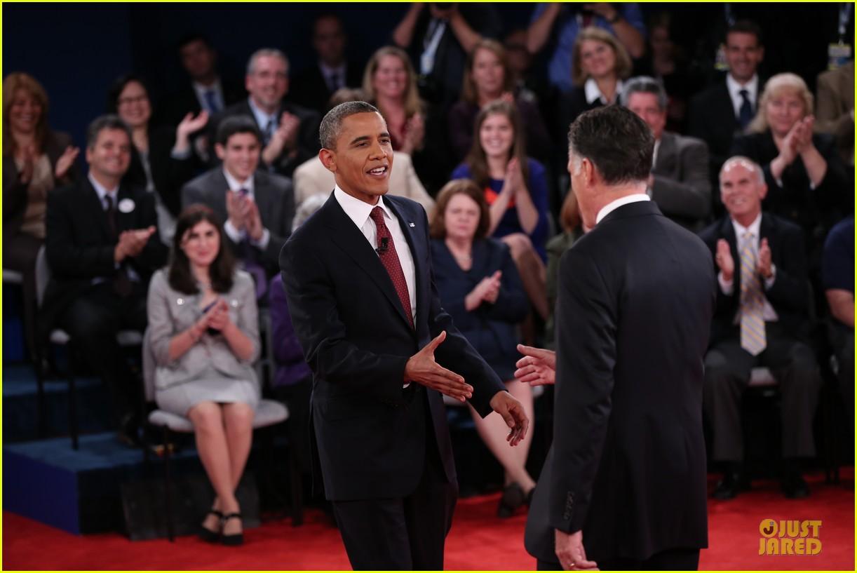 barack obama mitt romney second presidential debate 252739458