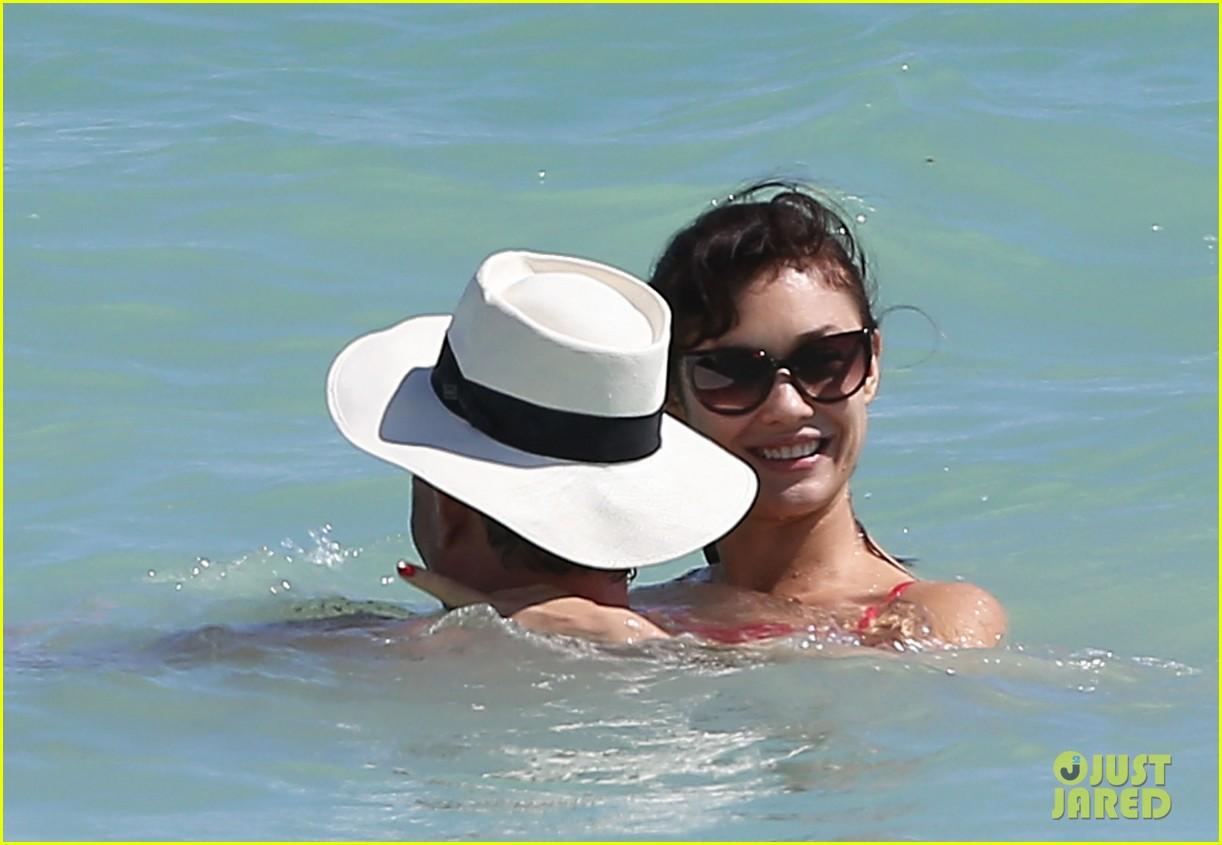 olga kuryalenko bikini beach babe with danny huston 022739813