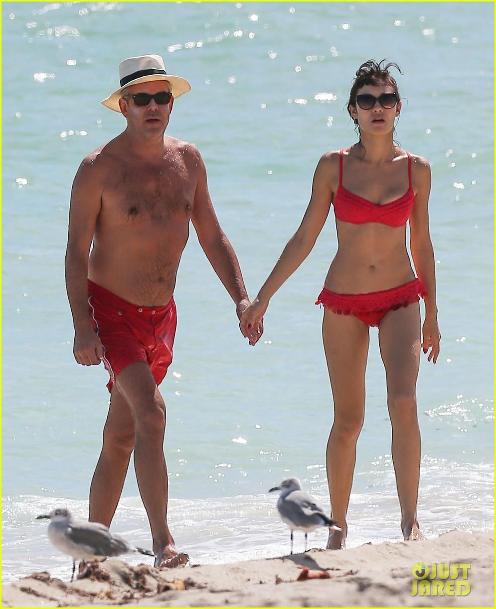 olga kuryalenko bikini beach babe with danny huston 052739816