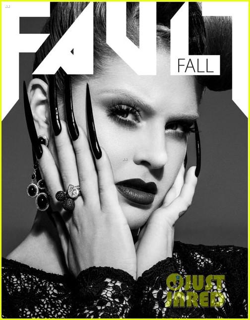 kelly osbourne covers fault magazine fall 2012 052740765