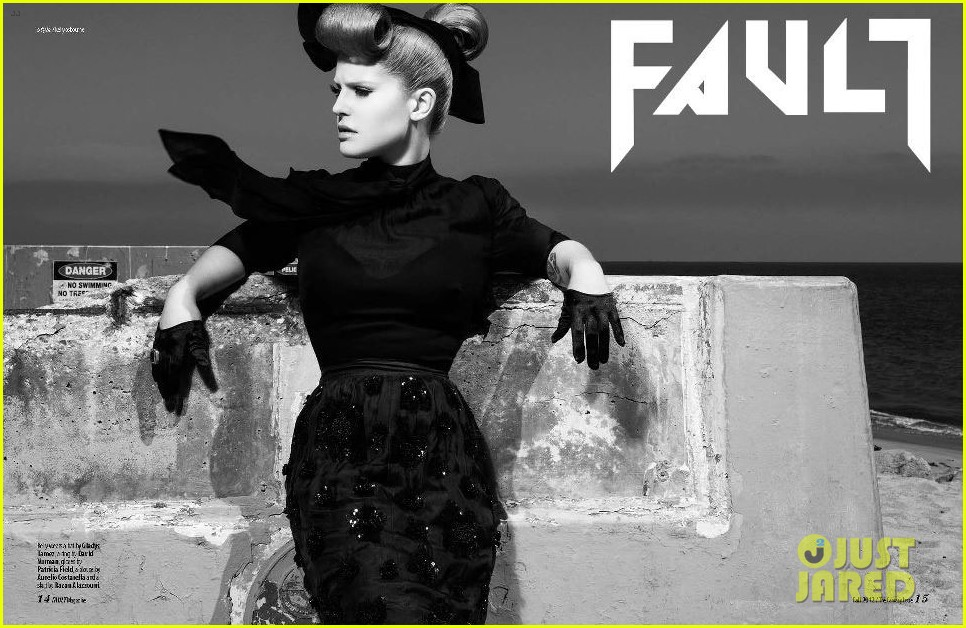 kelly osbourne covers fault magazine fall 2012 06