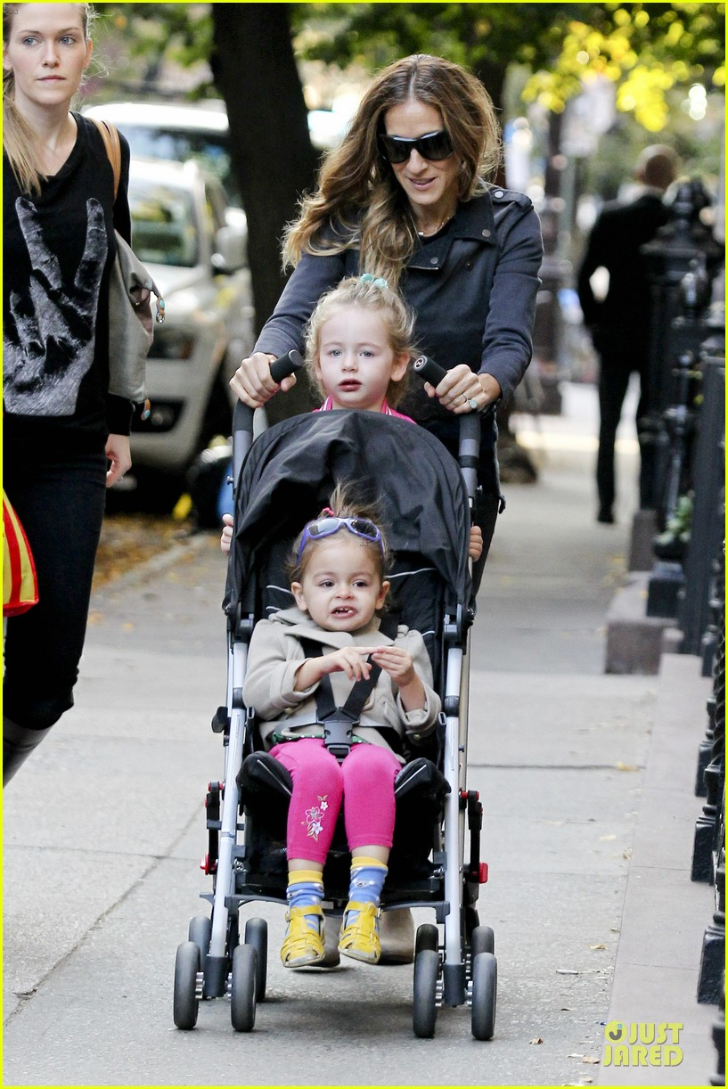 sarah jessica parker school walk with james marion tabitha 052743820
