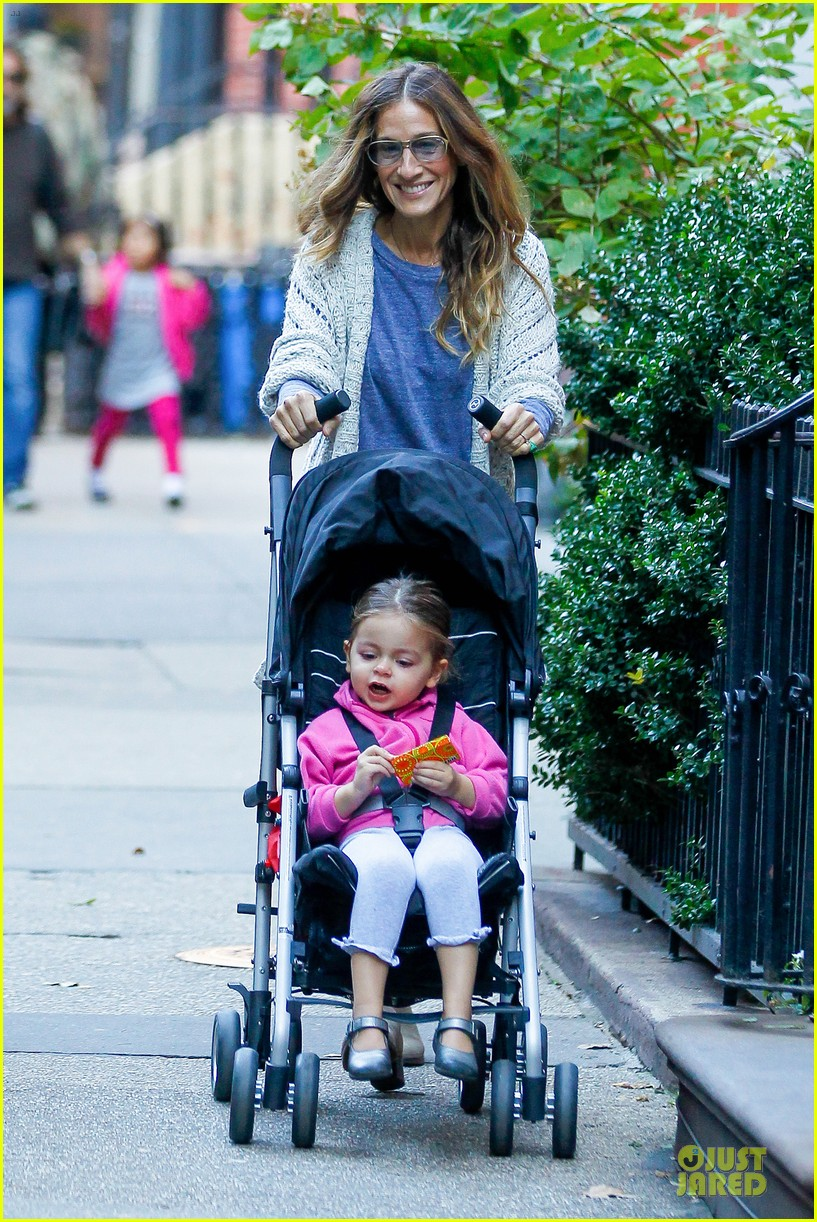 sarah jessica parker school walk with james marion tabitha 072743822