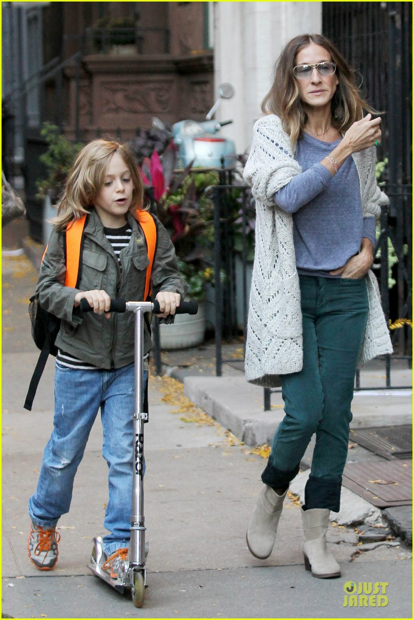 sarah jessica parker school walk with james marion tabitha 142743829