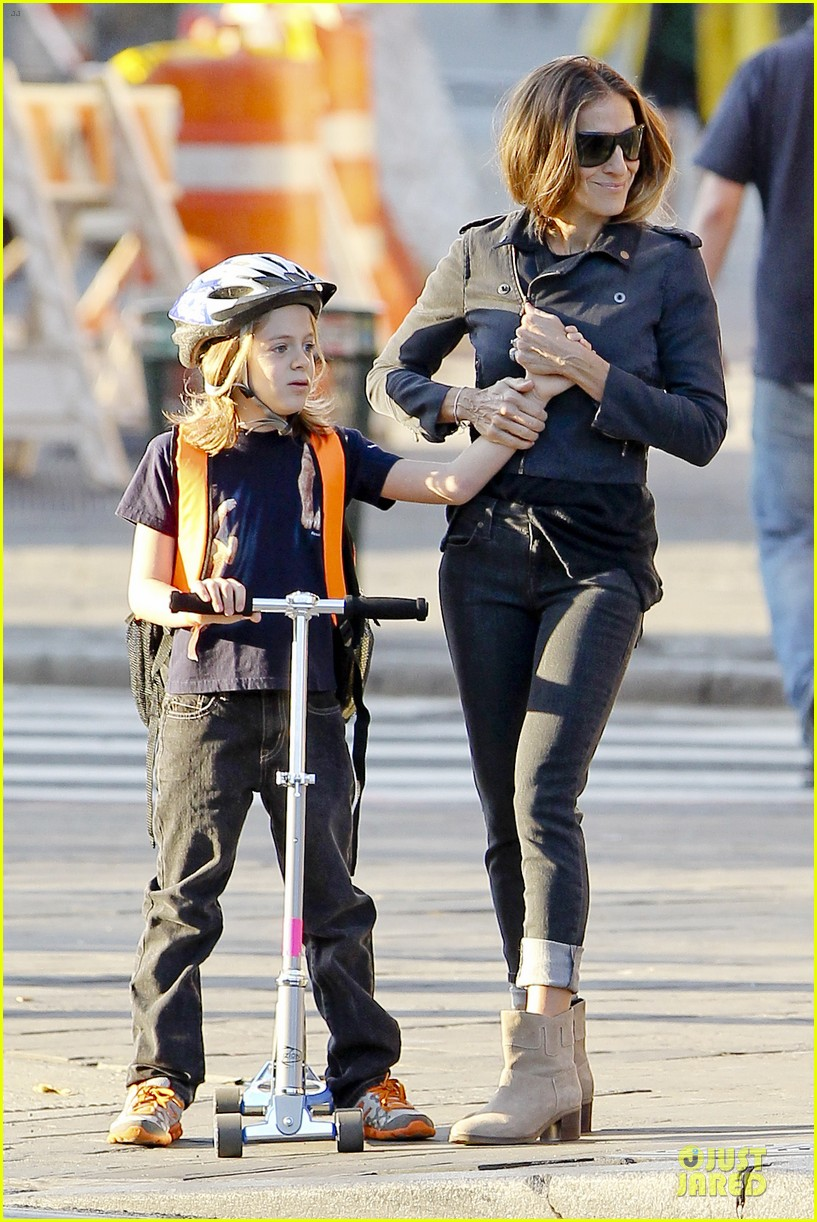 sarah jessica parker school walk with james marion tabitha 202743835