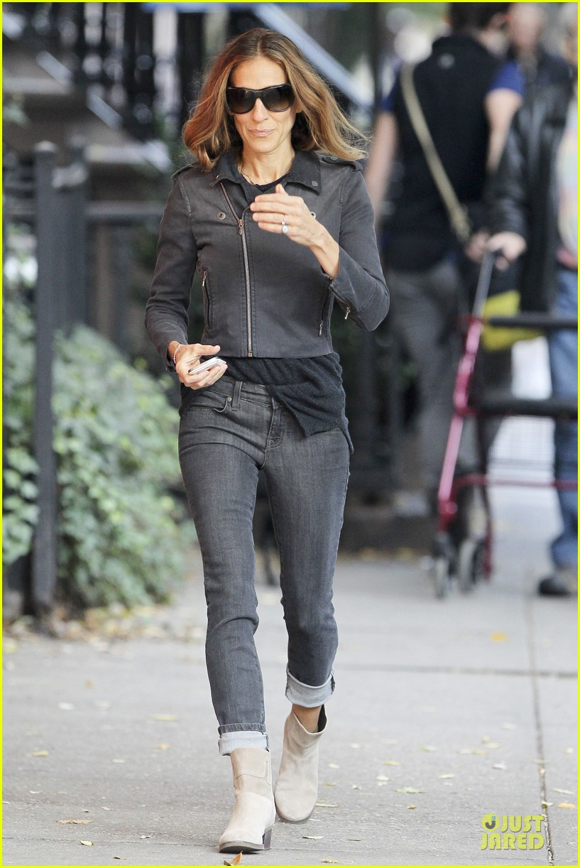 sarah jessica parker school walk with james marion tabitha 21
