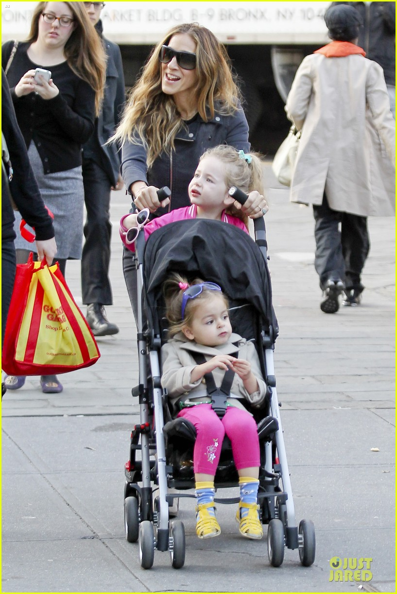 sarah jessica parker school walk with james marion tabitha 22