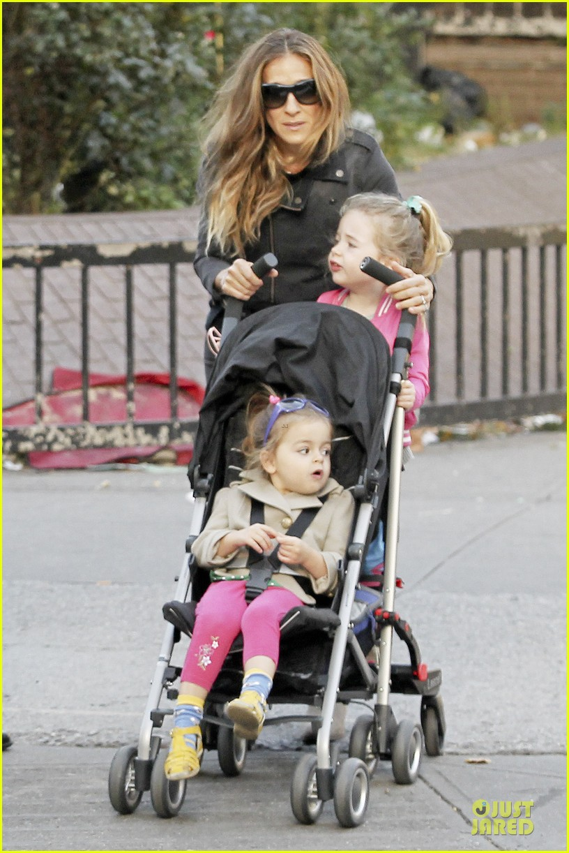 sarah jessica parker school walk with james marion tabitha 28