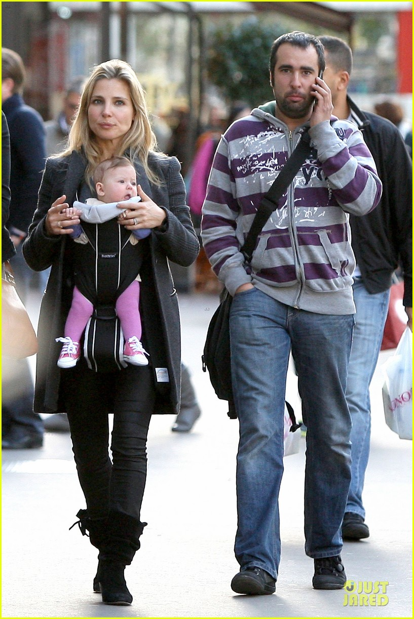elsa pataky paris stroll with india 052733760