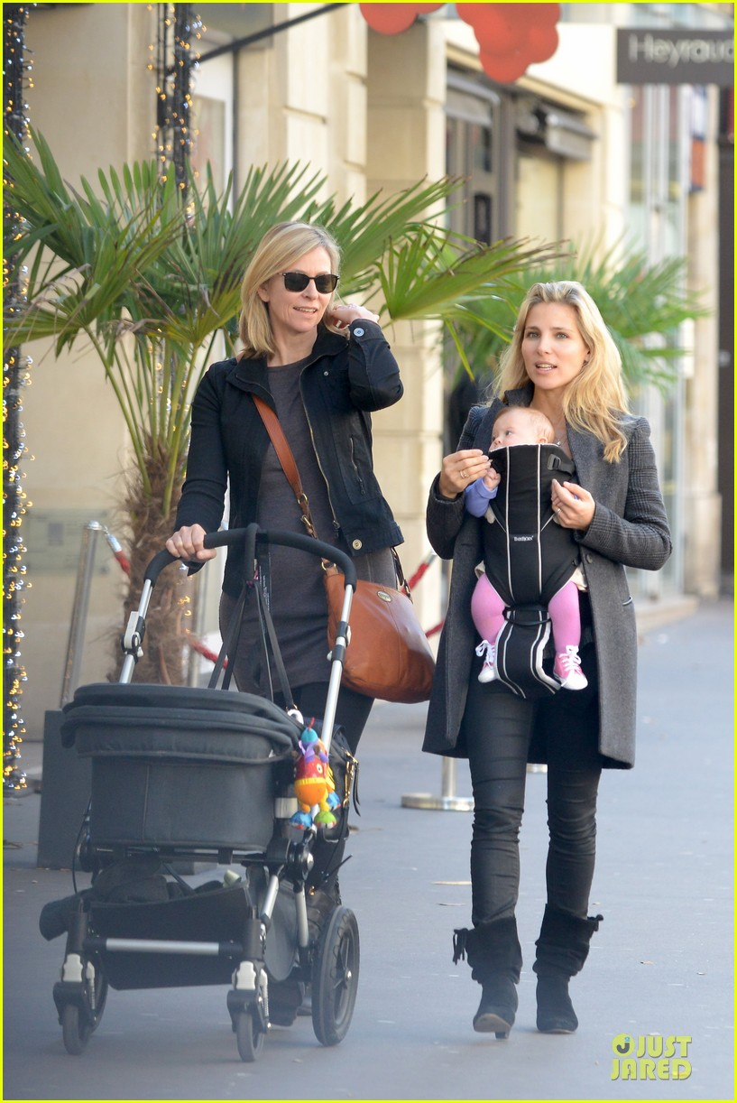 elsa pataky paris stroll with india 232733778