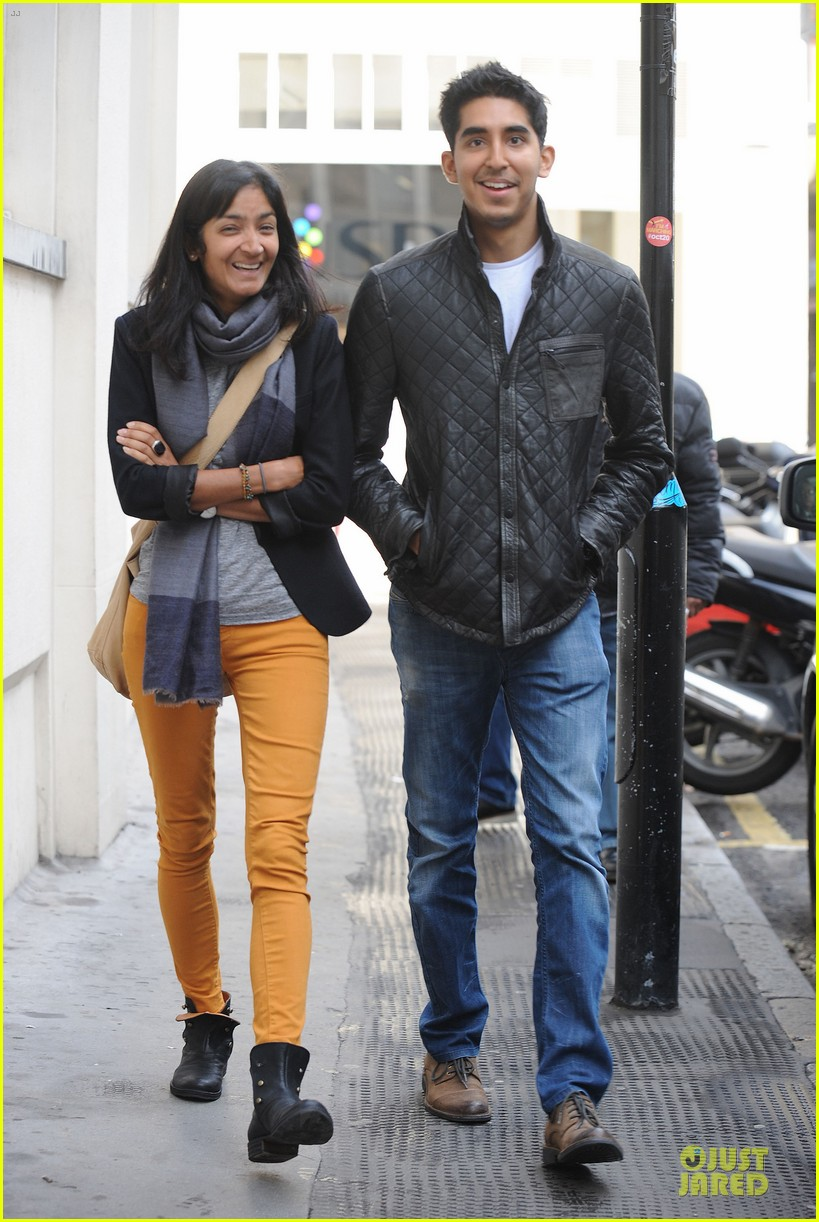 dev patel london stroll with gal pal 032733810