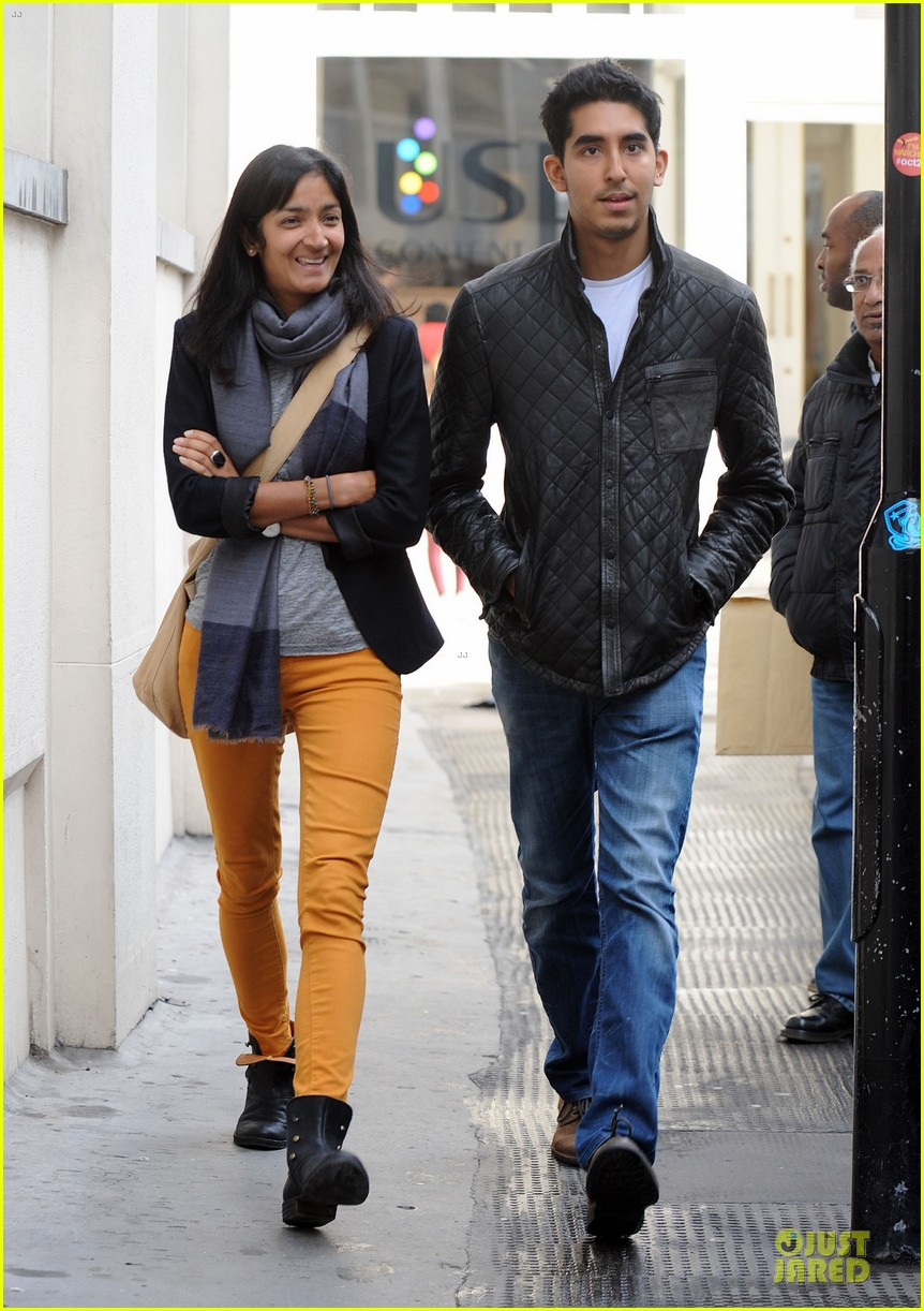 dev patel london stroll with gal pal 062733813