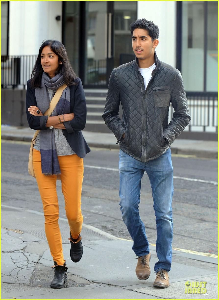 dev patel london stroll with gal pal 072733814