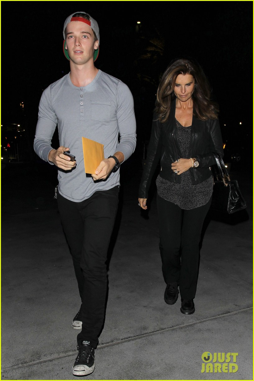 patrick schwarzenegger lakers opening night is one of my favorite nights 01