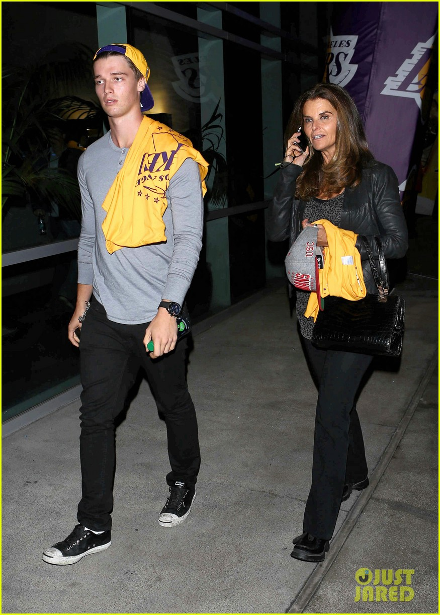 patrick schwarzenegger lakers opening night is one of my favorite nights 022748862