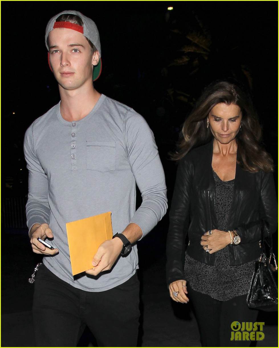 patrick schwarzenegger lakers opening night is one of my favorite nights 032748863