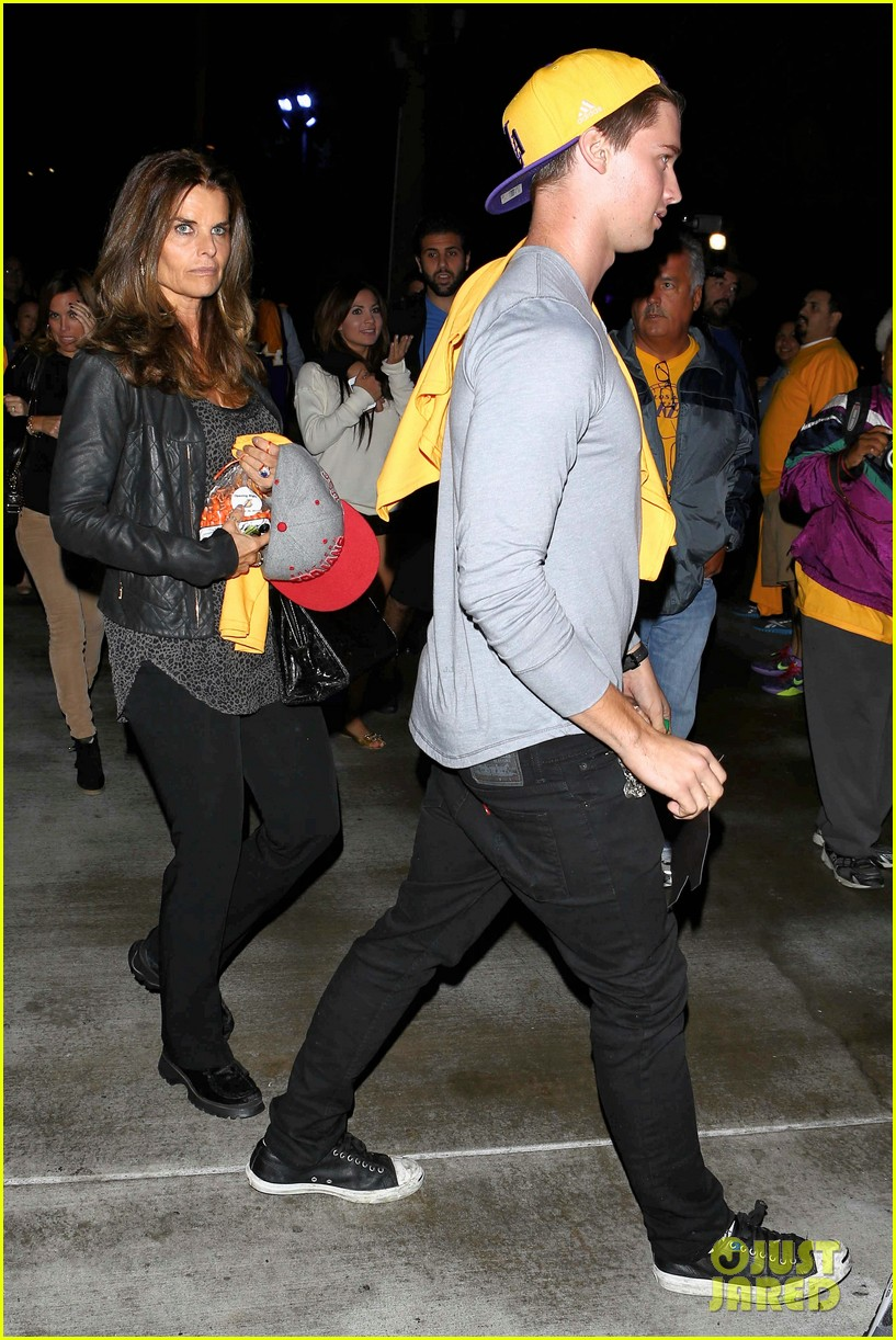 patrick schwarzenegger lakers opening night is one of my favorite nights 04