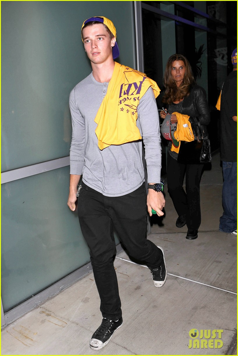 patrick schwarzenegger lakers opening night is one of my favorite nights 05