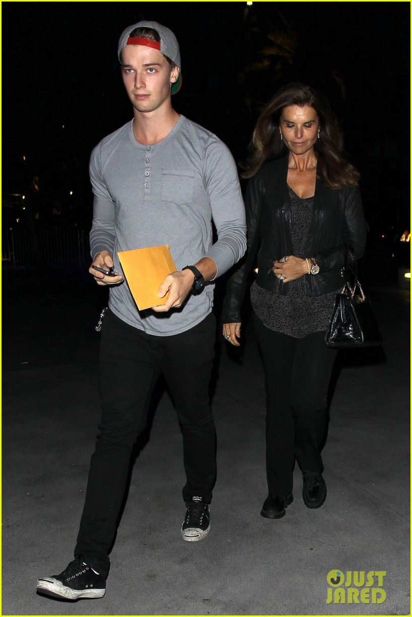 patrick schwarzenegger lakers opening night is one of my favorite nights 07