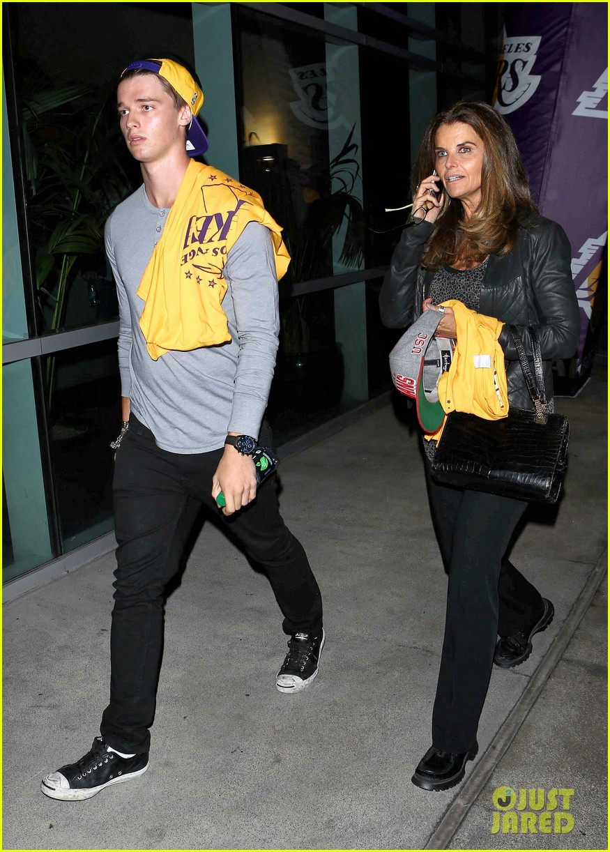 patrick schwarzenegger lakers opening night is one of my favorite nights 082748868