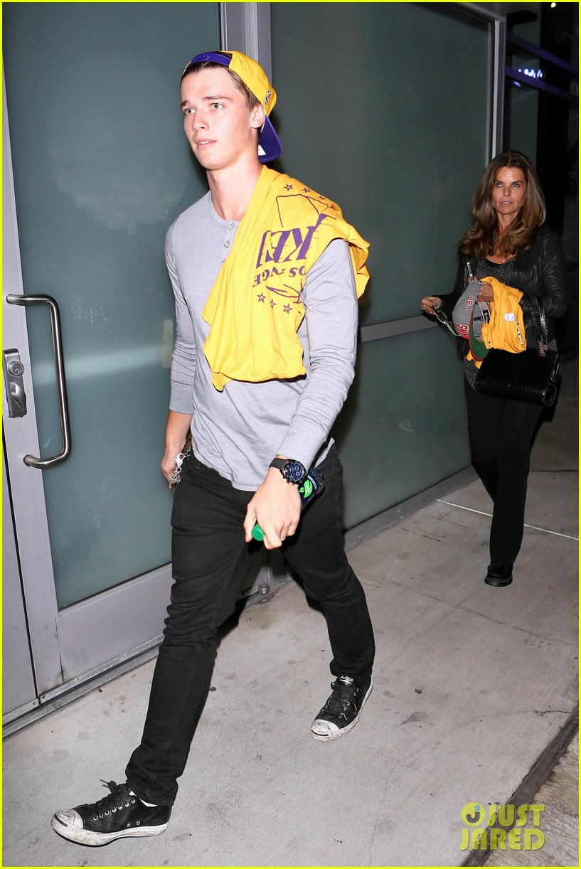 patrick schwarzenegger lakers opening night is one of my favorite nights 112748871